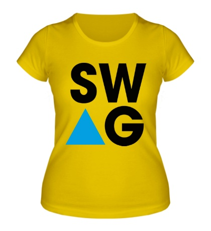 Женская футболка SW-AG Triangle