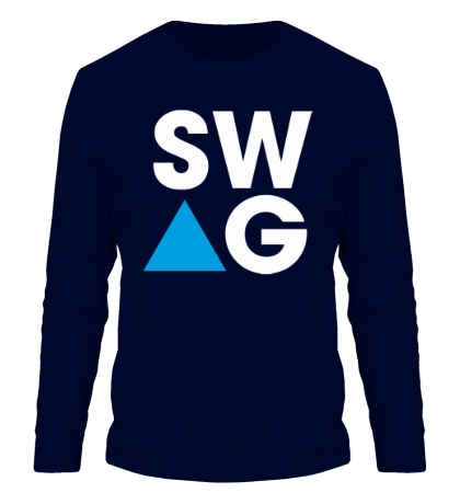 Мужской лонгслив SW-AG Triangle