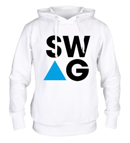 Толстовка с капюшоном SW-AG Triangle
