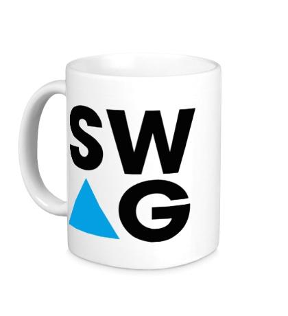 Керамическая кружка SW-AG Triangle