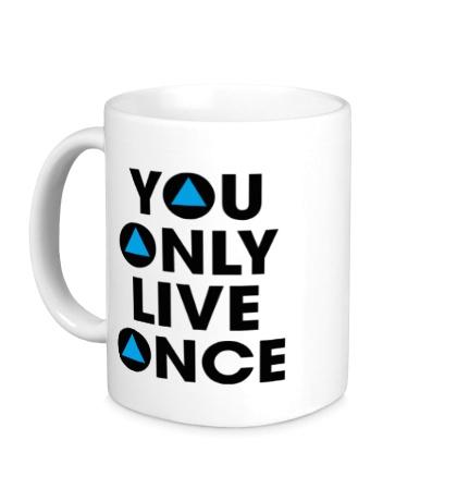 Керамическая кружка You Only Live Once