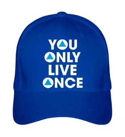 Бейсболка You Only Live Once
