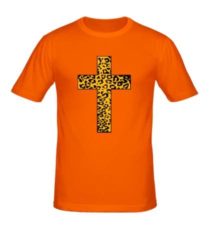 Мужская футболка Cross Leopard