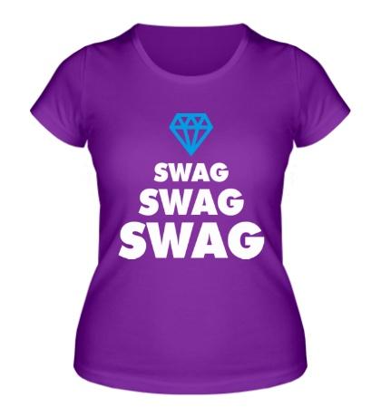 Женская футболка Swag Lines Diamond
