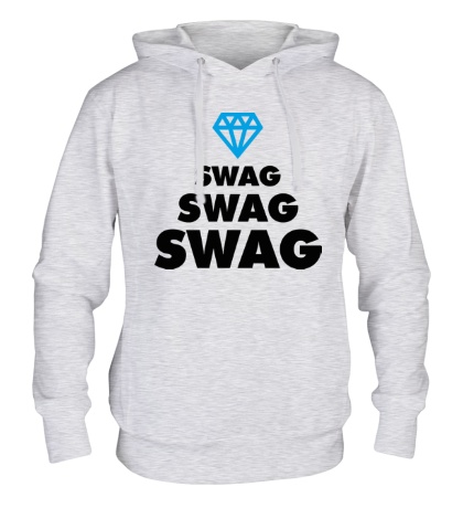 Толстовка с капюшоном Swag Lines Diamond