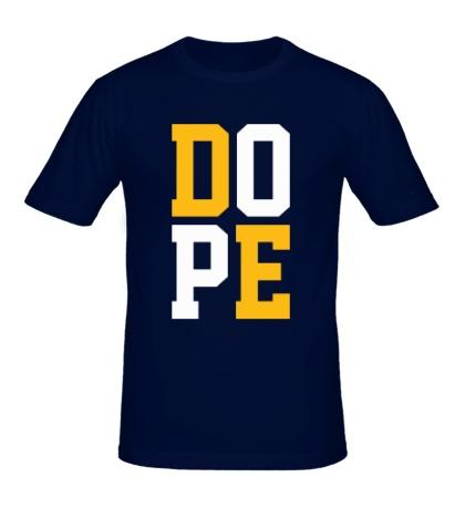 Мужская футболка D.O.P.E.
