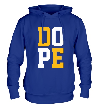 Толстовка с капюшоном D.O.P.E.