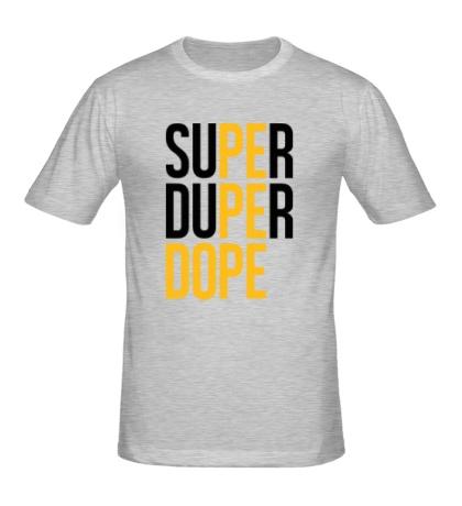 Мужская футболка Super Dope