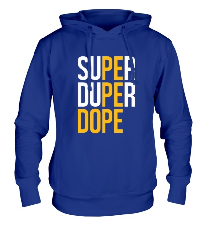 Толстовка с капюшоном Super Dope