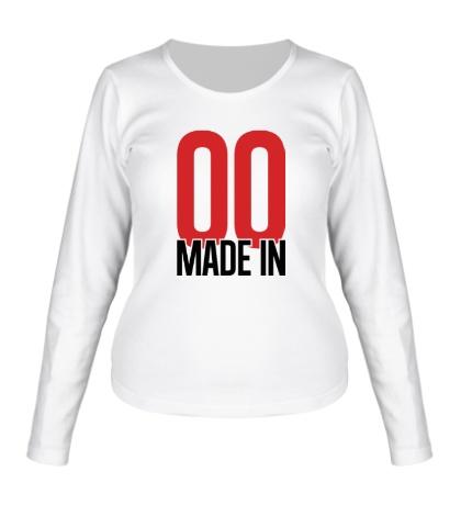 Женский лонгслив Made in 00s