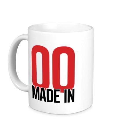 Керамическая кружка Made in 00s