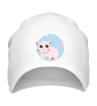 Шапка Розовая кошка