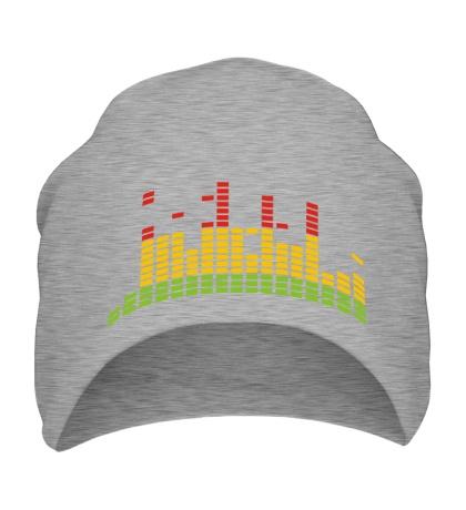 Шапка Цветной эквалайзер