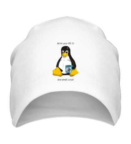Шапка Smells Linux