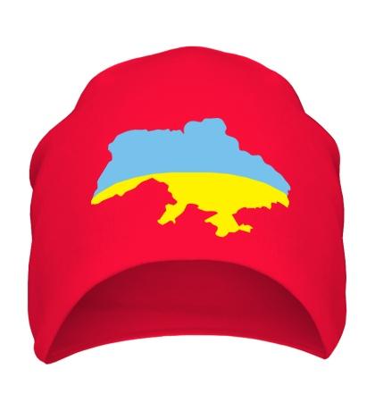 Шапка Карта Украины