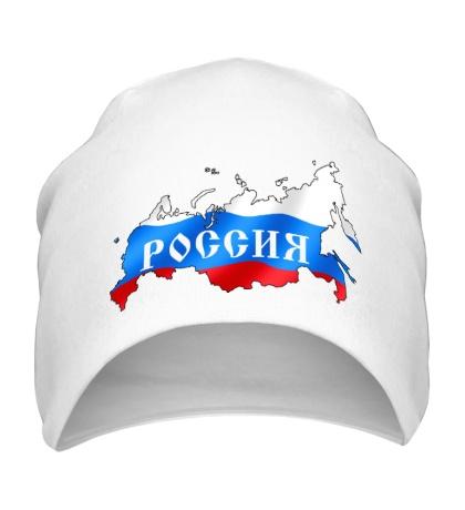 Шапка Карта России