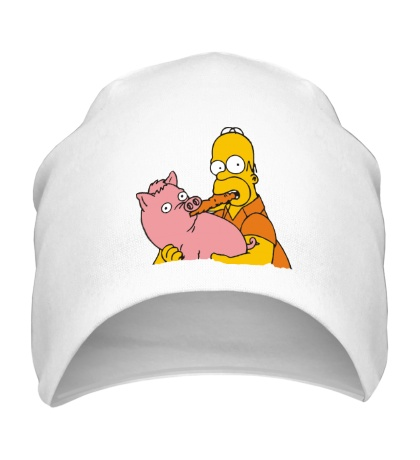 Шапка Гомер и свинья