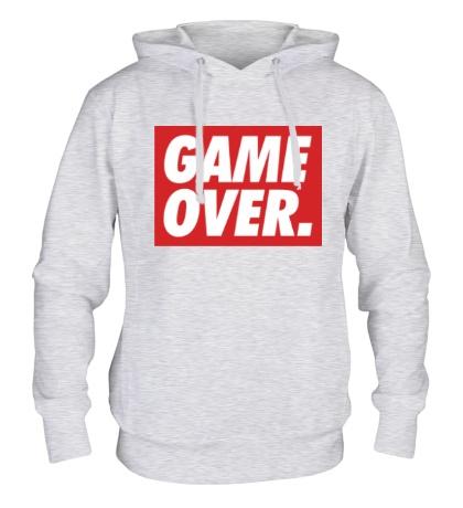 Толстовка с капюшоном Obey Game Over