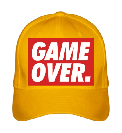 Бейсболка Obey Game Over