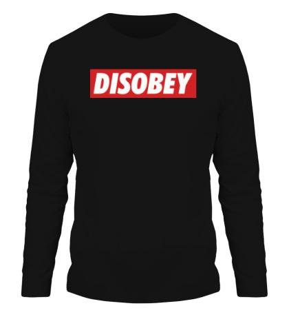 Мужской лонгслив Disobey