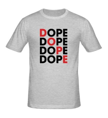Мужская футболка Dope Lines
