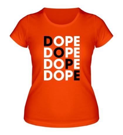 Женская футболка Dope Lines