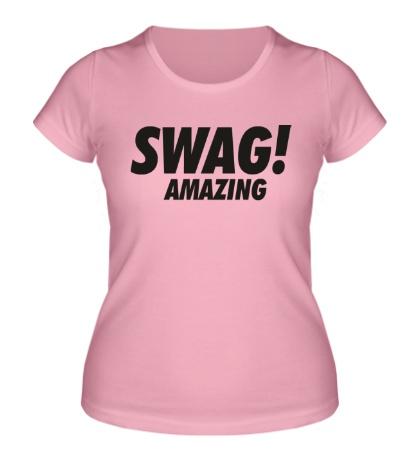 Женская футболка Swag Amazing