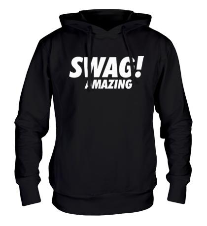 Толстовка с капюшоном Swag Amazing