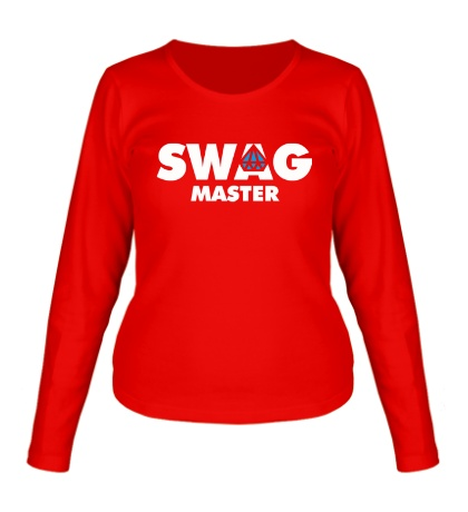 Женский лонгслив Swag Master