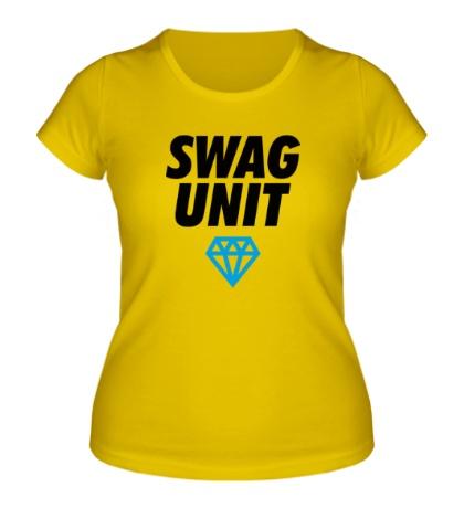 Женская футболка Swag Unit