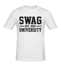 Мужская футболка Swag University