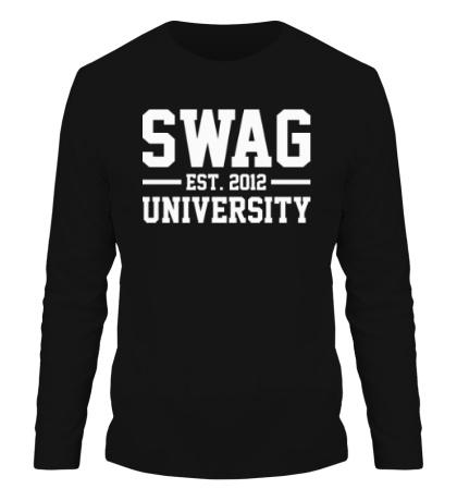 Мужской лонгслив Swag University