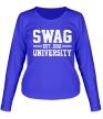 Женский лонгслив «Swag University» - Фото 1