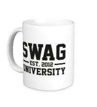 Керамическая кружка Swag University