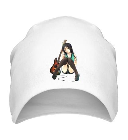 Шапка Аниме девушка с гитарой