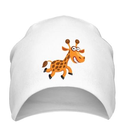Шапка Веселый жираф