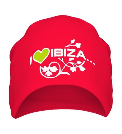 Шапка I Love Ibiza