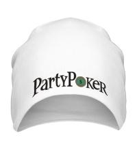 Шапка Party poker