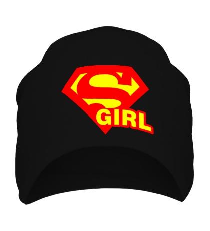 Шапка Supergirl