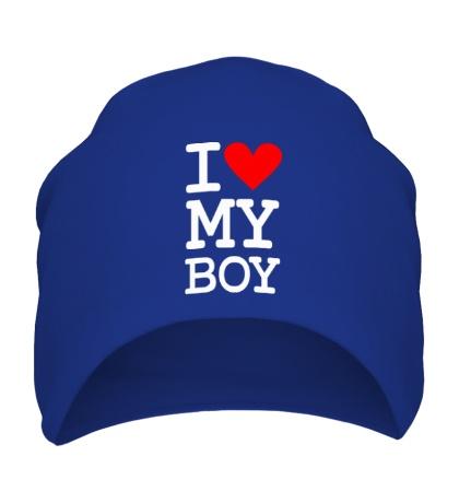 Шапка I love my Boy
