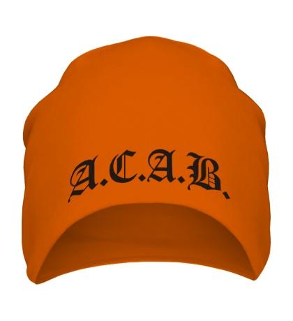 Шапка A.C.A.B Fans