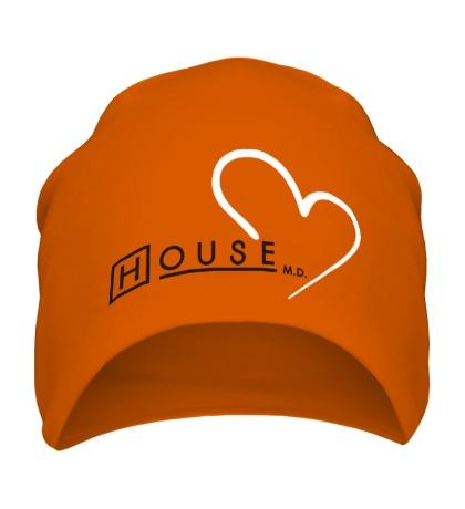 Шапка I love House MD