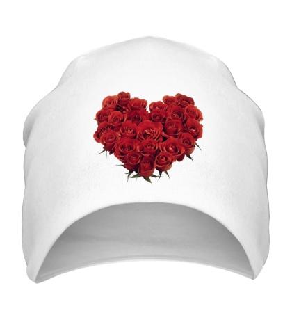 Шапка Букет роз