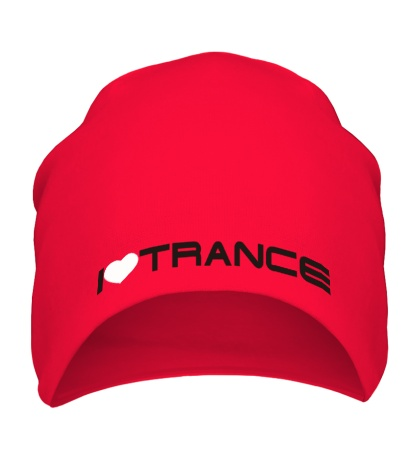 Шапка I love trance