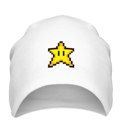 Шапка Пиксельная звездочка