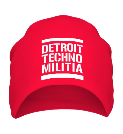 Шапка Detroit techno militia