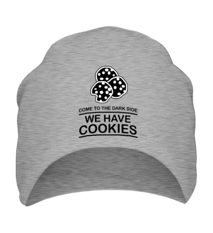 Шапка Come to DS we have Cookies