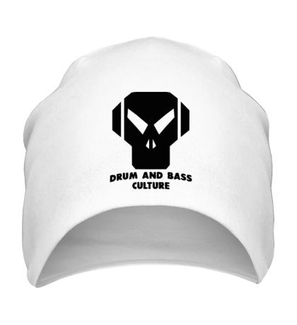 Шапка Drum and Bass culture