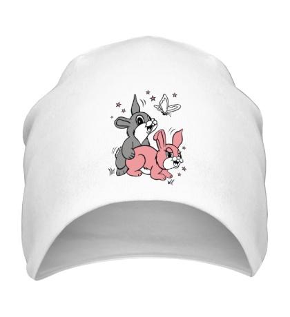 Шапка Счастливые кролики