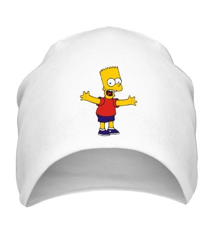 Шапка Барт разводит руками